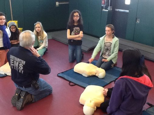CPR Training at Local School